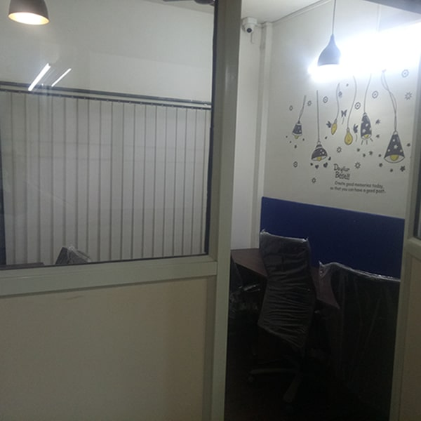 Coworking space in pune private cabin